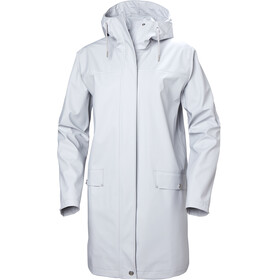 Helly Hansen W's Moss Rain Coat Grey Fog